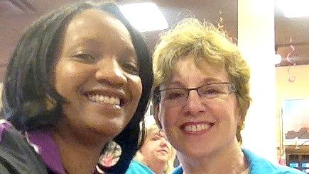Nice to meet D,C reader Madeleine Antonio.