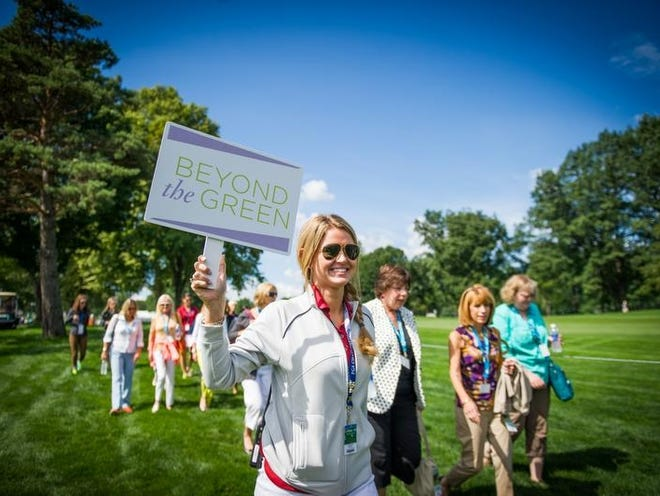 Inside the Ropes tour, part of the Beyond the Green women's business conference, held Monday, August 5th, at Oak Hill Country Club in Pittsford.
