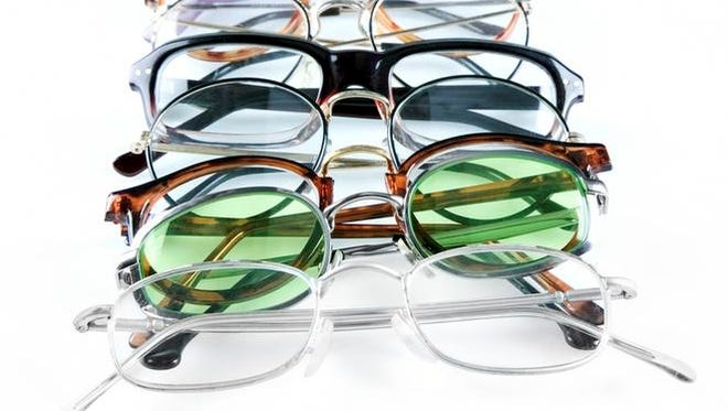 Many people have several pairs of glasses to change up their look.