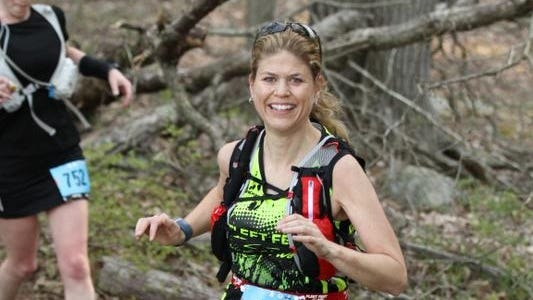 Bambi Jasmin, 41, moved to the Rochester area from Vermont and soon discovered many trails.