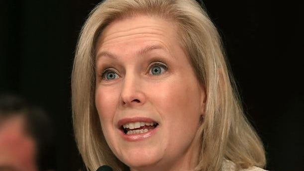 U.S. Sen. Kirsten Gillibrand (D-NY) testifies about the damage to her state caused by Hurricane Sandy during a Senate Appropriations Committee hearing on Capitol Hill, December 5, 2012 in Washington, DC. The committee is hearing testimony on the response from the federal government in the wake of Superstorm Sandy.