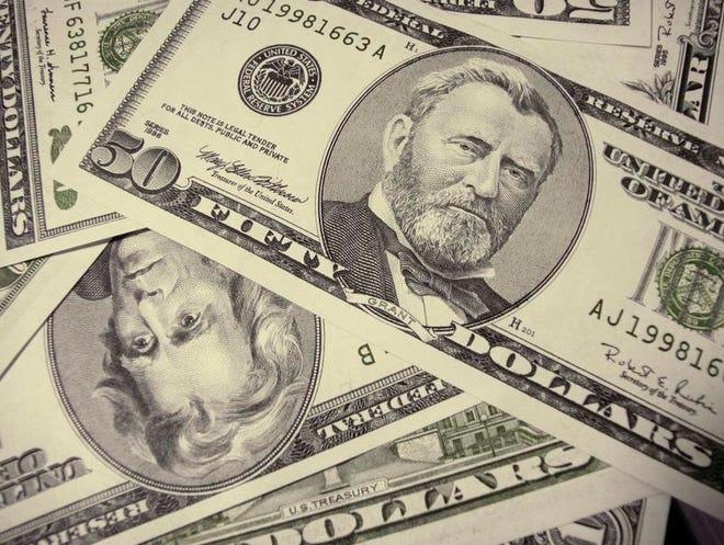 Stock photo: Pile of money