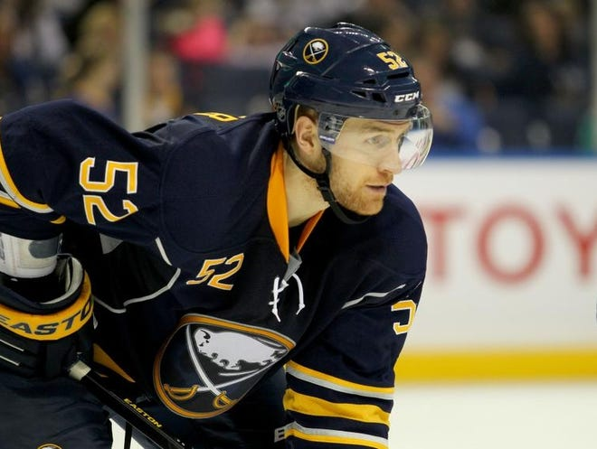 The Buffalo Sabres re-signed defenseman Alexander Sulzer, who played in 17 games last season, to a one-year contract.