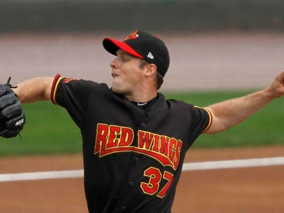 Red Wings starting pitcher Andrew Albers has been selected to play in the Triple-A All-Star Game. He is 7-3 with a 3.13 earned-run average this season.