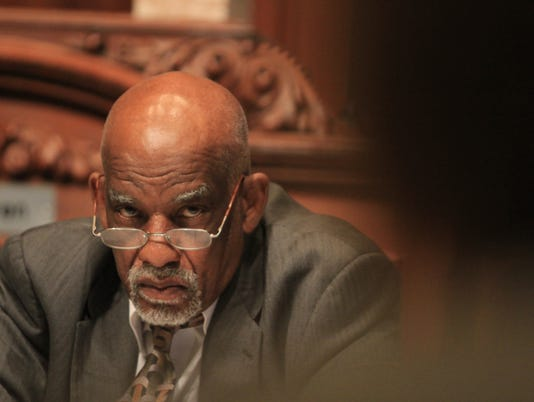 Assemblyman David Gantt, D-Rochester, was among 12 lawmakers collecting a salary and pension in 2012. Overall, the number of state government employees who earned a salary and a pension did decrease last year.