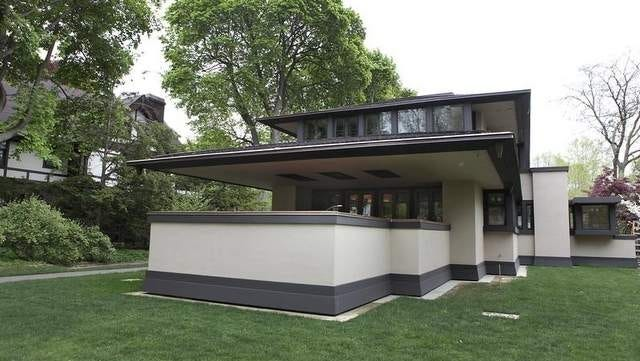 An example of remarkable Rochester architecture is found in the Frank Lloyd Wright-designed Boynton House at 16 East Blvd. / ANNETTE LEIN//file photo 2012