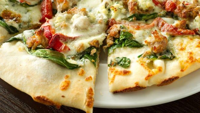 Prosecco's Contadine pizza