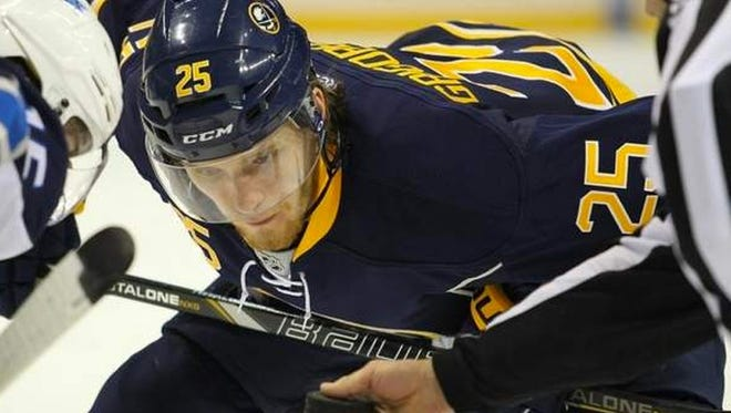 Center Mikhail Grigorenko was a first-round pick of the Buffalo Sabres last year and will join the Rochester Americans for the playoffs. It is uncertain what role Grigorenko, who doesn't turn 19 until May 17, will play for Rochester.