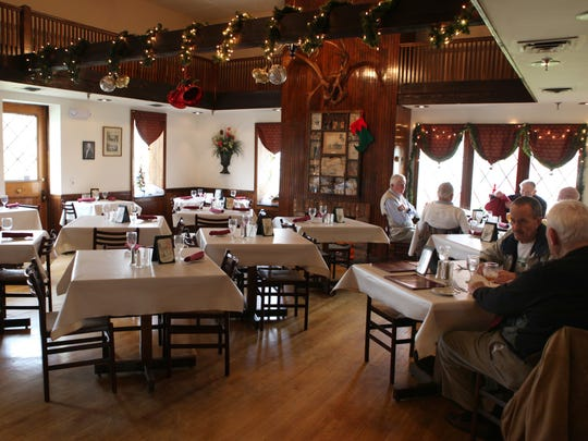 The interior of the The Humphrey House in Penfield was brightened up with a remodel done by the newest owner Mike Videtti. The restaurant offers a popular Monday night all you can eat pasta bar.