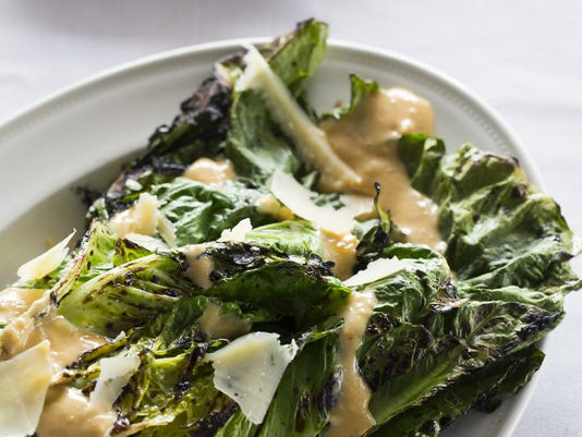 Michael's Valley Grill's grilled Romaine salad