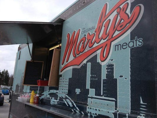 Marty's Meats food truck