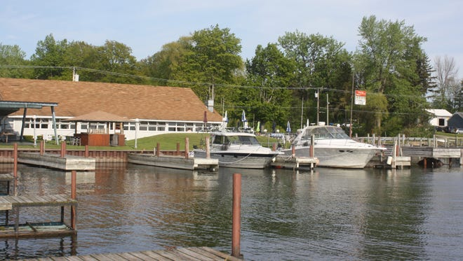 Connelly's Cove is a well-preserved example of the yacht clubs and waterfront restaurants of the 1970s. It's on Sodus Bay at 7147 Lake Bluff Road, Wolcott, Wayne County.