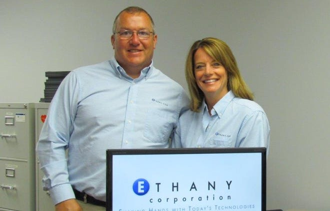 ETHANY Corp. CEO Mike Dakin and chief financial officer Carole Dakin.
