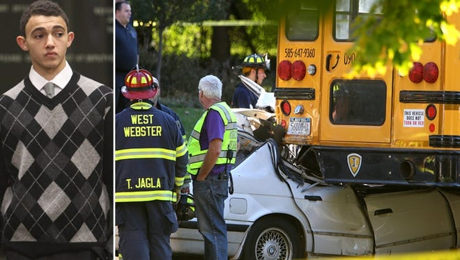 John Zakhary was driving with three other Brighton High School students when he slammed into the back of a school bus Oct. 9, seriously injuring one of the passengers.