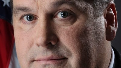 County Legislature President Jeff Adair