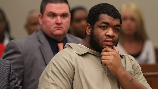 DeVonte Lively, who was found guilty of killing Larie Butler in May, was given 25 to life during sentencing Thursday in state Supreme Court.