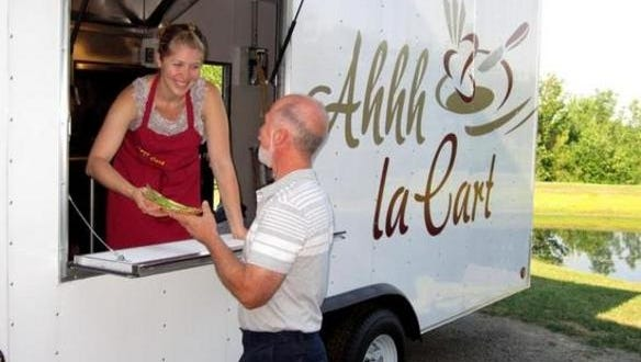 Ahh La Cart will come to the Food Truck Rodeo at the Rochester Public Market.