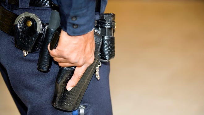 Under state law approved in January, magazines can't be loaded with more than seven bullets regardless of how many it can hold, except at a gun range or competition. Retired law enforcement wouldn't be subject to that limit.