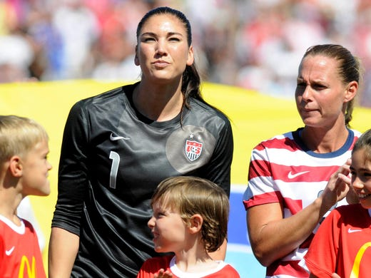 Abby Wambach talks about Hope Solo, domestic violence