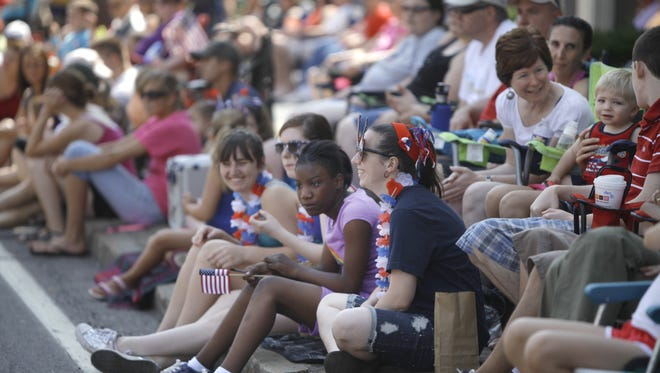 A file photo of the annual Penfield Fourth of July Parade.