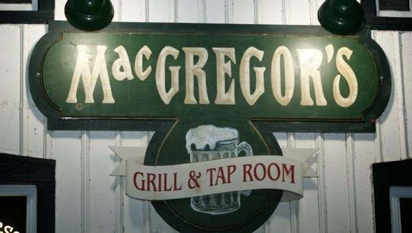MacGregor's Grill , Taproom, 607 Coldwater Road, Gates, is closed.