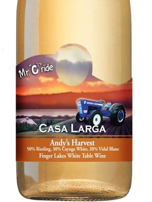Andy's Harvest is based on a wine that Casa Larga founder Andrew Colaruotolo liked to drink after working in the vineyard.