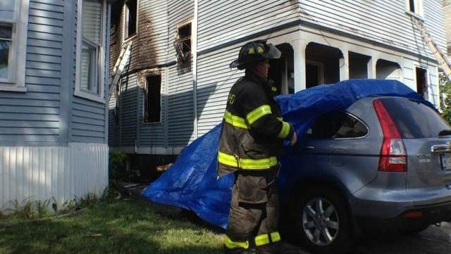 Rochester firefighters were called to a working house fire on Saratoga Avenue.