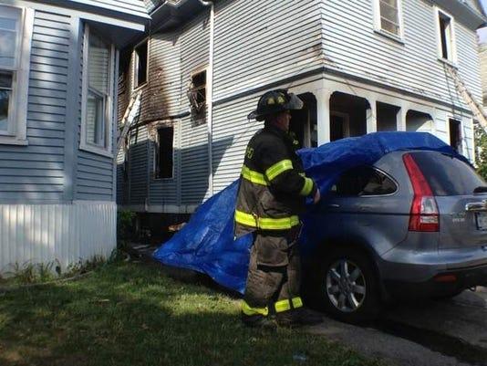 Saratoga Avenue fire