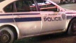 A Rochester police car.