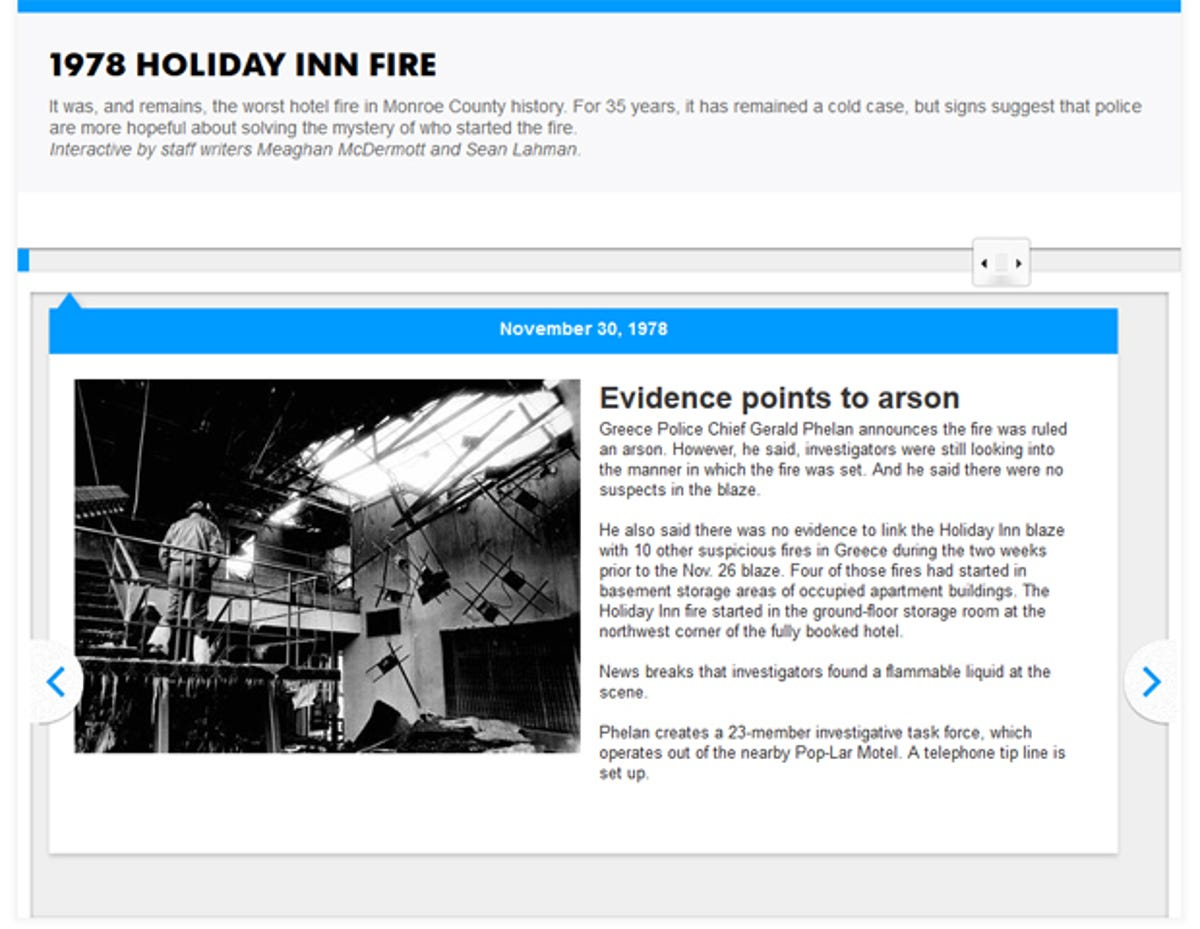 Timeline: The 1978 Holiday Inn fire