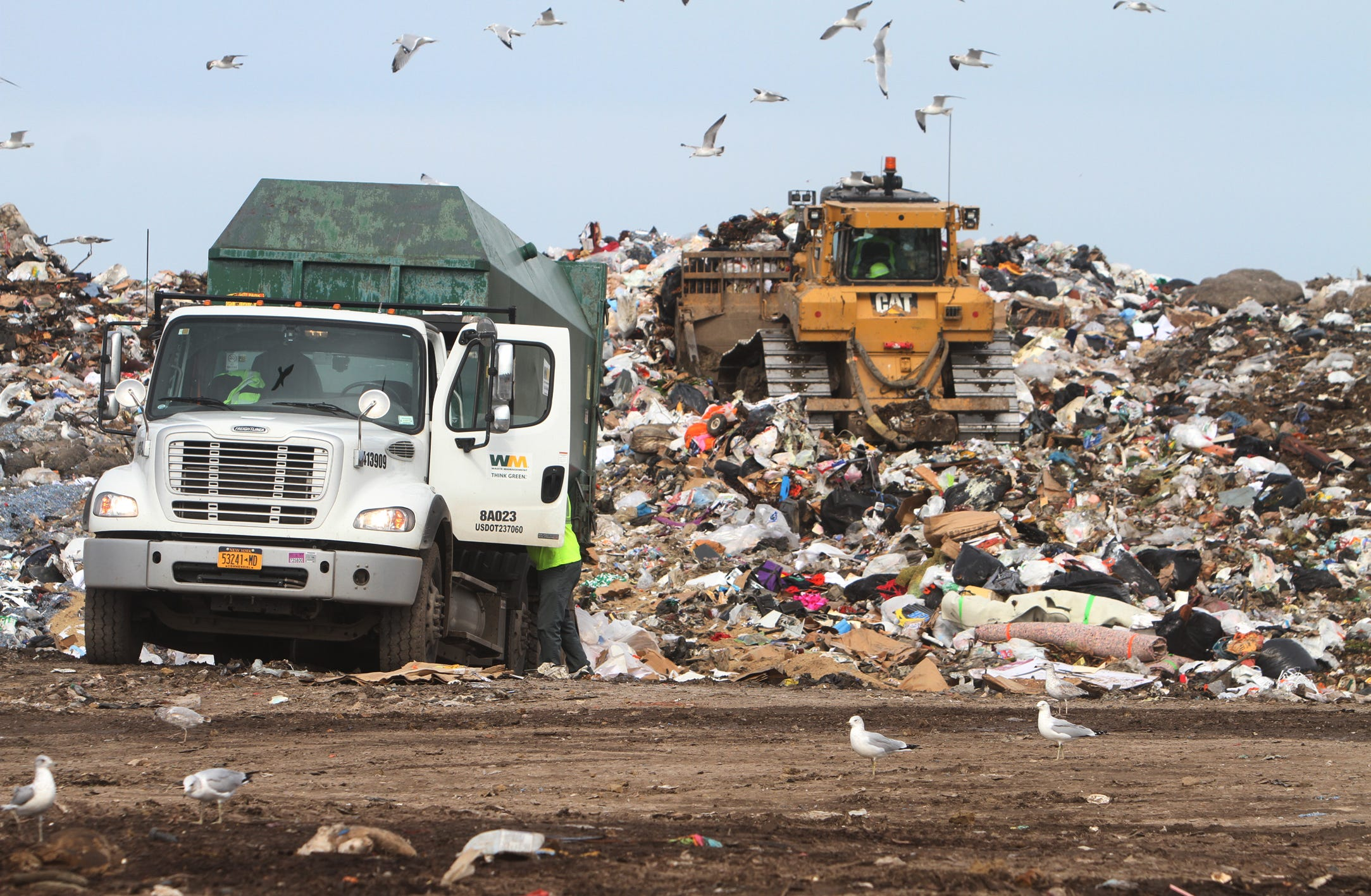 Casella plans to send Ontario County Landfill leachate by rail to Ohio
