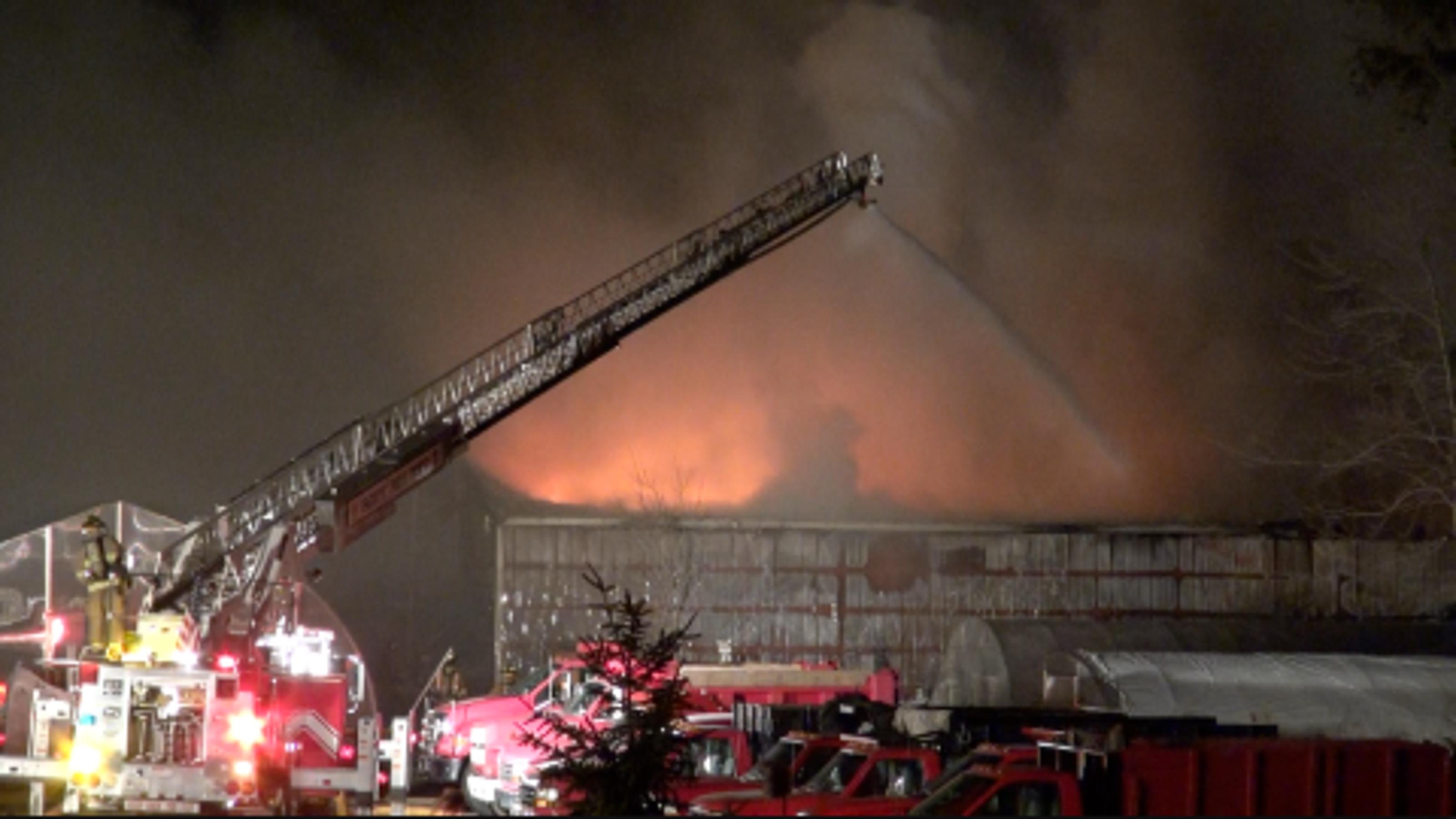 Fire at Wayside Garden Center