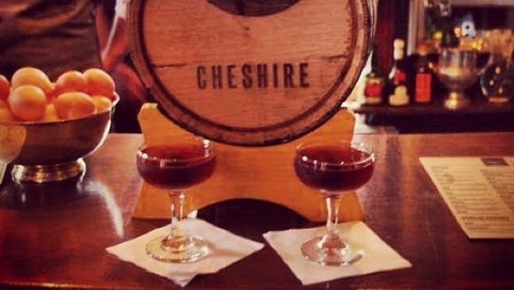 Rochester-based Cheshire, a cocktail lover's fantasyland, will release a barrel-aged Negroni this week.