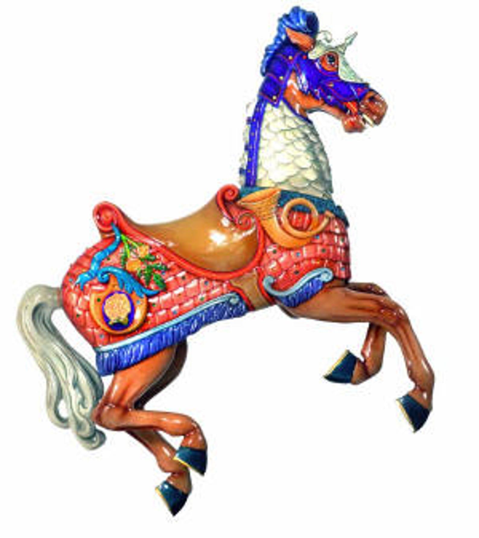Meet the Salem's Riverfront Carousel horses