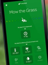 A screenshot of the app Foresee.