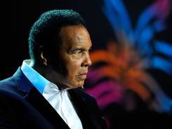 Muhammad Ali, seen here at a benefit in 2010, will receive the Liberty Medal for his humanitarian and social work at a special ceremony on Thursday.