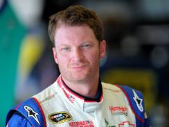 NASCAR's most popular driver proved his skill behind the wheel stretches beyond stock cars.