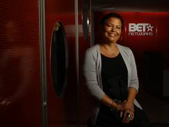 BET's Debra Lee has seen a prototype in which TV is built into 3-D glasses.