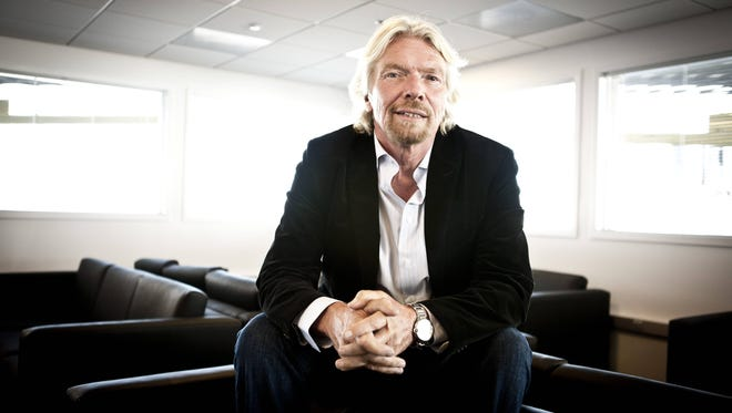 """""""It's going to be an explosion of people having had the chance to go into space and enjoy the marvels of space travel,"""" Richard Branson says."""