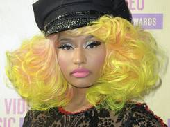 Sept. 6, 2012: Nicki Minaj arrives at the MTV Video Music Awards in LA. The flamboyant rapper will be one of American Idol's judges this season, Fox announced.