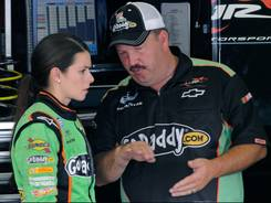 Tony Eury Jr. has left JR Motorsports, where he most recently served as crew chief for Danica Patrick's Nationwide ride.