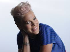 Pink's sixth studio album, 'The Truth About Love,' is out Tuesday.