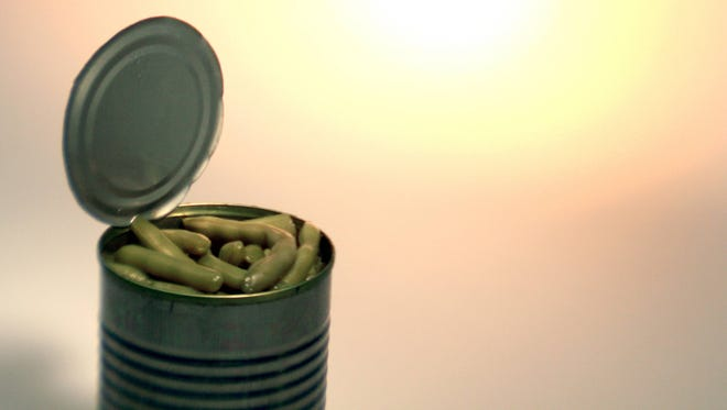 The linings of some metal cans have the chemical BPA.