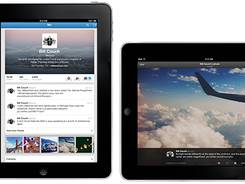 Twitter's updated iPad app has a new interface and a photo stream.