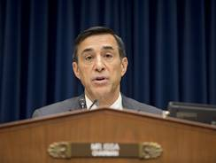 House Oversight Committee Chairman Darrell Issa, R-Calif., hears from Inspector General Michael Horowitz on Thursday in Washington.