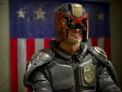 I am the law: Keith Urban stars as Judge Dredd in the rebooted 'Dredd 3D.'