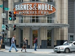Barnes & Noble said it would launch a video service with films and television programs which can be purchased by owners of its Nook tablet in the United States and Britain.