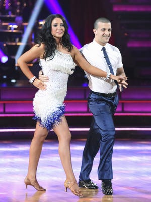 Mark Ballas is pleased to report that partner Bristol Palin was named the most-improved dancer among the All-Star contestants.