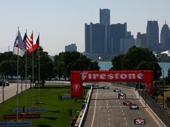 The IndyCar Series will hold the first of three doubleheader weekends at Detroit's road course in June 2013.