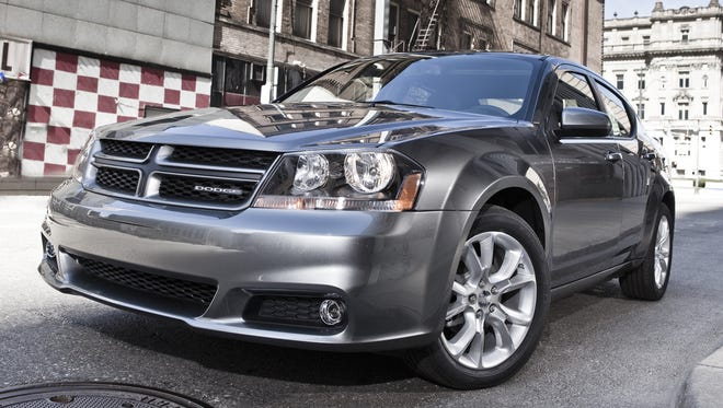 The 2013 Dodge Avenger R/T -- the mid-size sedan's sales were up 89% in September, the biggest group product.
